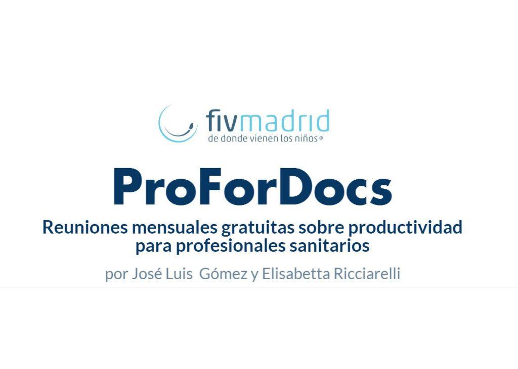 Simposio ProForDocs