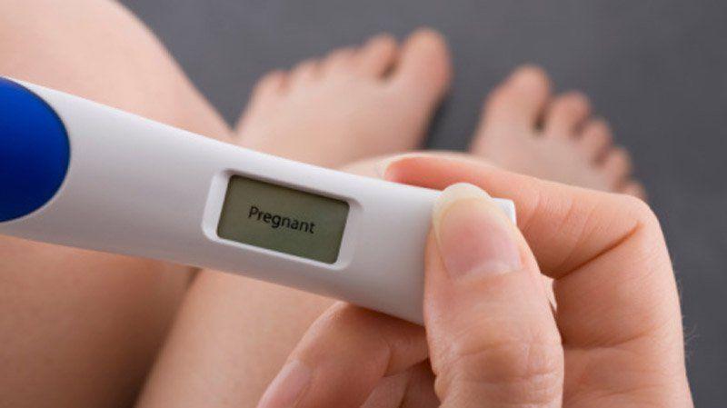 regla y estar embarazada