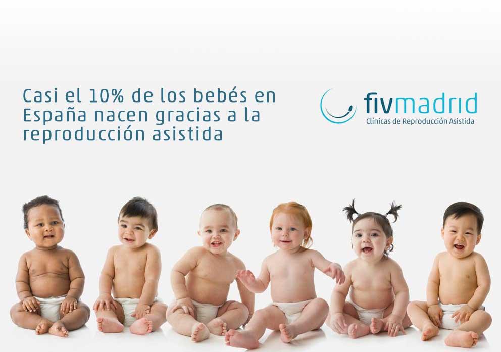 bebés en España