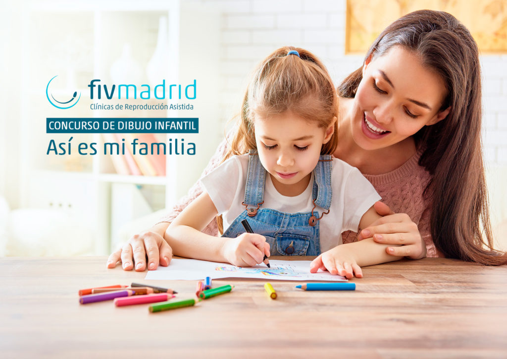 concurso de dibujo homenaje a las familias FIVMadrid